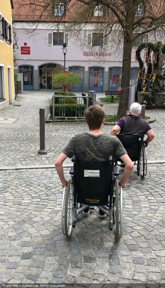 Rollstuhlbefahrung_MarktSchwaben_P-Seminar