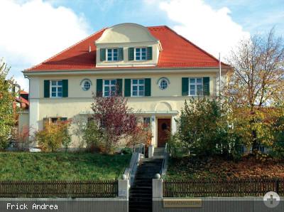 Das Heimatmuseum, die ehem. Schweiger-Villa, an der Bahnhofstraße