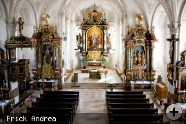 Katholische Kirche Innenansicht