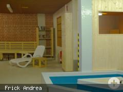 Saunabereich mit Tauchbecken