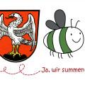 Logo Markt Schwaben summt mit