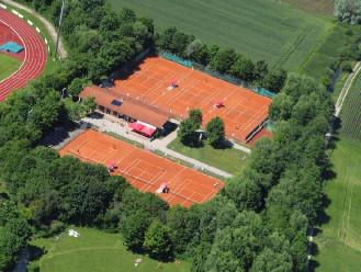 Luftbild Tennisanlage