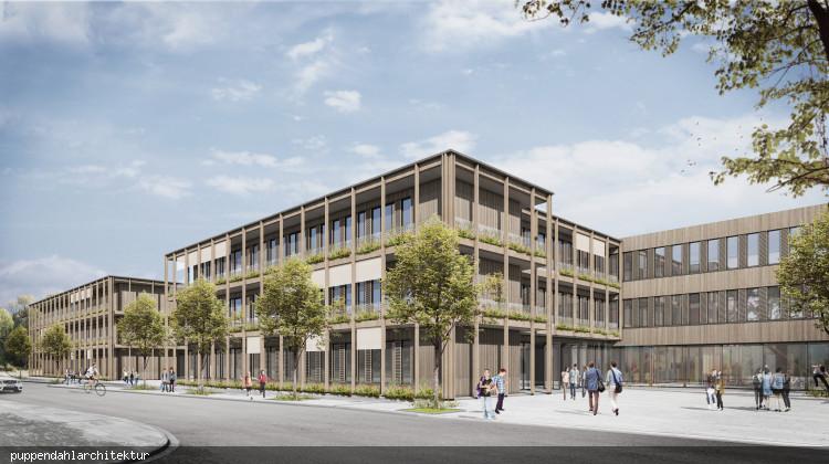 Visualisierung_des_Schulkomplexes_von_Suedosten