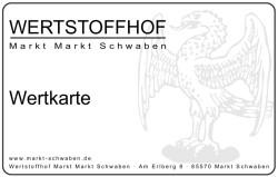 Wertkarte Wertstoffhof Markt Schwaben