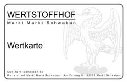 Wertstoffhof - Wertkarte