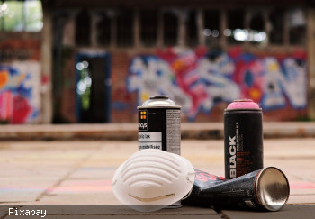 Symbolbild Spray Cans