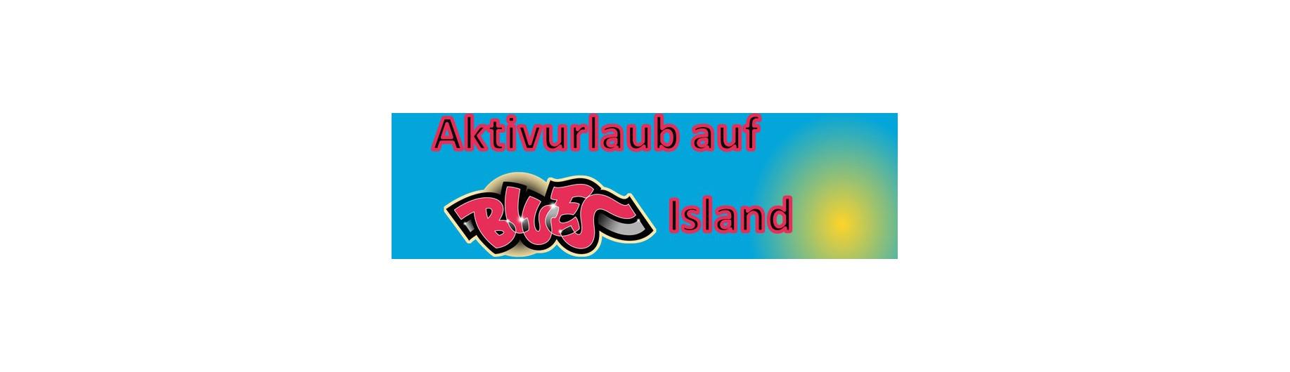 Aktivurlaub auf BLUES Island