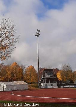 Beleuchtung Sportpark Markt Schwaben