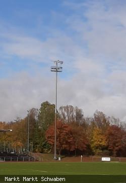Beleuchtung Sportpark Stadion Markt Schwaben
