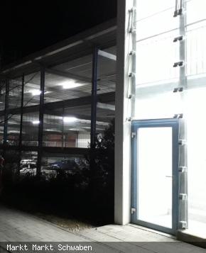 Beleuchtung des P+R Parkhaus Markt Schwaben