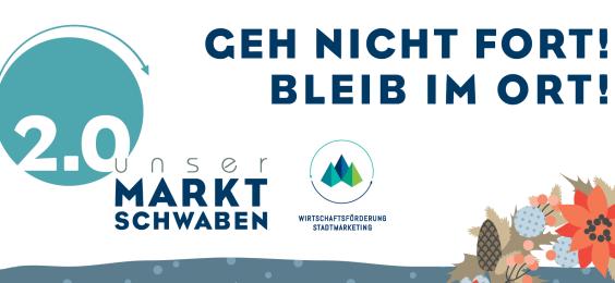 Motto des Advent Einkaufserlebnis in Markt Schwaben