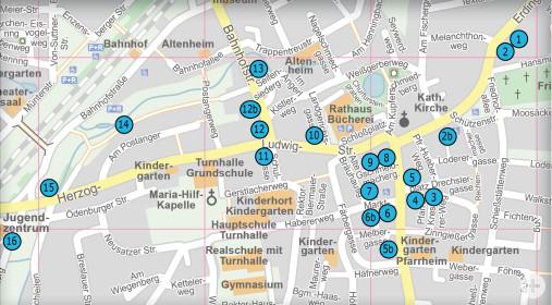 Kunstpfad Stationen Erweiterung vom 18.03.2021