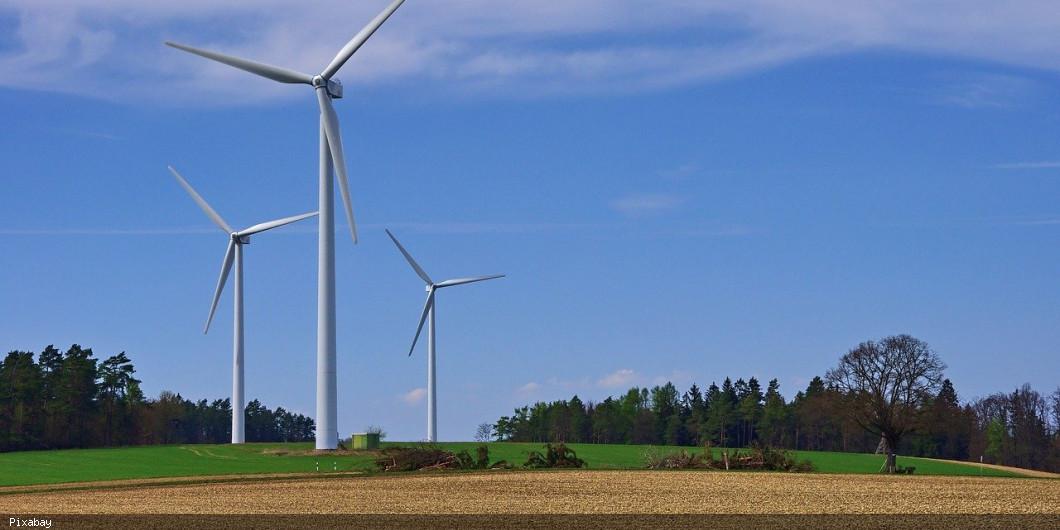 Windräder Symbolbild