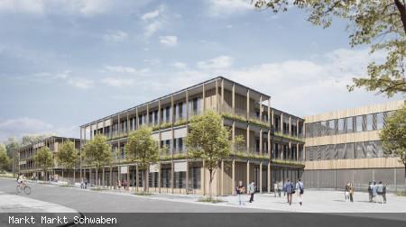 Visualisierung Neubau Kommunales Schulzentrum